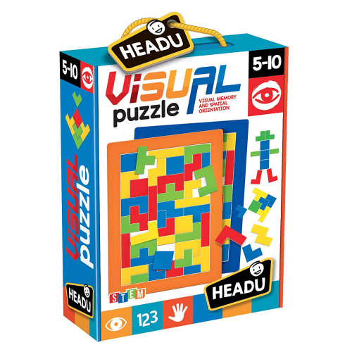 Headu STEM Visual Memory Kids Children Puzzle Jigsaw Gift
